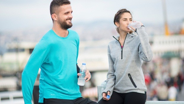 how to help sore muscles - get fluids during exercise