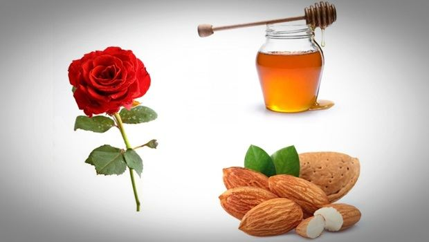 rose face mask - honey, almond and rose face mask