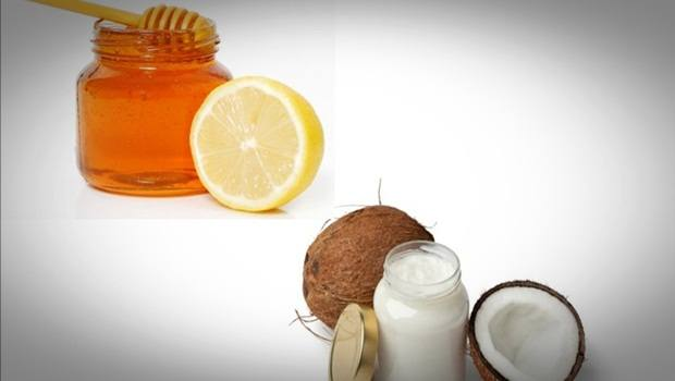 homemade facial moisturizer - honey, lemon juice and coconut oil homemade facial moisturizer