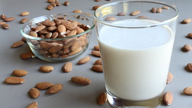 hair masks for frizzy hair -milk and almond