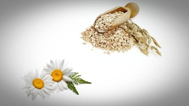 oatmeal face mask - oatmeal and chamomile mask