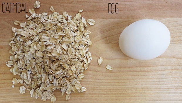 oatmeal face mask - oatmeal and egg mask