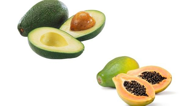 papaya face mask - papaya and avocados face mask for glowing skin