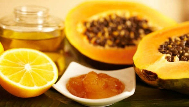 papaya face mask - papaya, honey and lemon mask to achieve beautiful skin