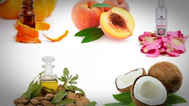 homemade facial moisturizer - peach, coconut, almond oil, rose water and orange oil homemade facial moisturizer
