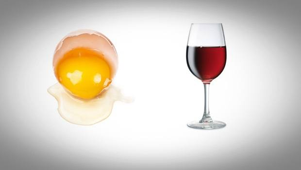 red wine face mask - red wine and egg white face mask