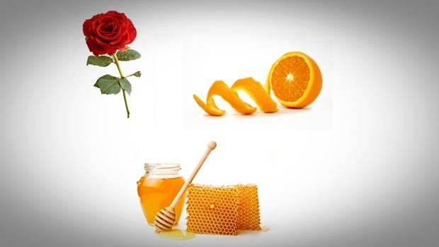rose face mask - rose, honey and orange peel face mask for smooth and radiant skin
