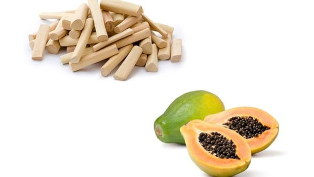papaya face mask - sandalwood powder and papaya face mask for fair skin
