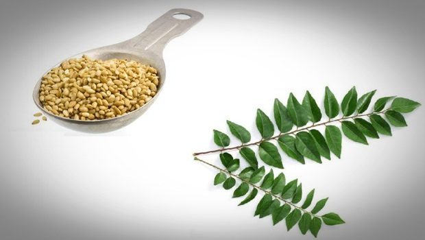 hair masks for frizzy hair -sesame seeds with curry leaf and vitamin e