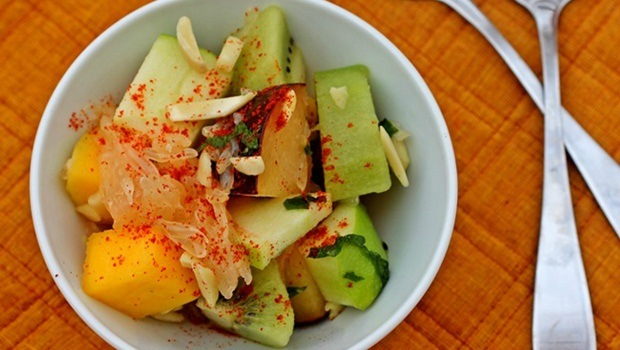 diet for good health - spicy fruit salad