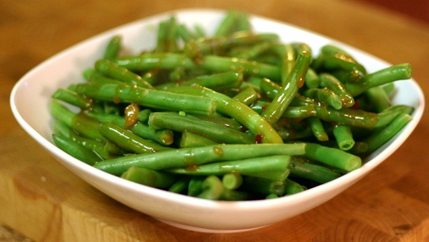 diet for good health - spicy green beans