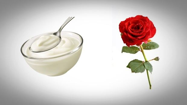 rose face mask - yogurt and rose face mask for skin whitening
