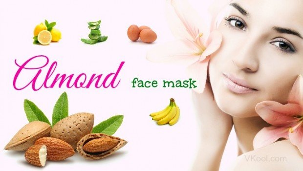 Almond face mask