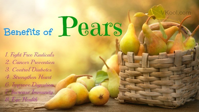 Benefits of Pears