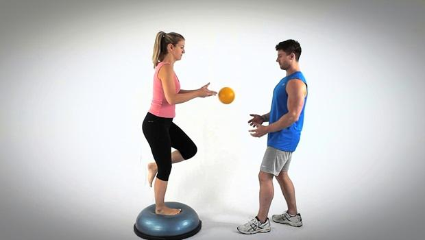 physical therapy exercises for shoulder - ball catching