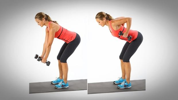 physical therapy exercises for shoulder - bending row
