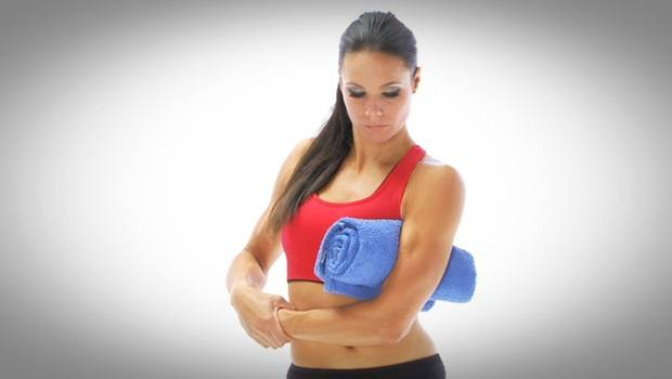 physical therapy exercises for shoulder - capsule stretch