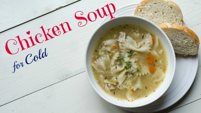 chicken soup for cold