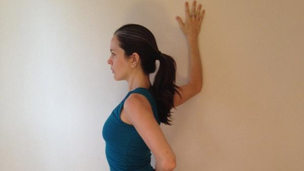 physical therapy exercises for shoulder - doorway stretch