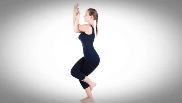 physical therapy exercises for shoulder - eagle pose for shoulders