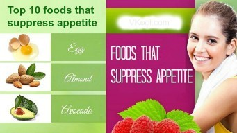 foods that suppress appetite