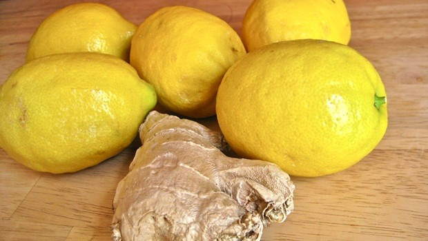 ginger for acid reflux - ginger and lemon