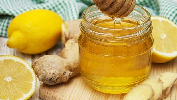 ginger juice with honey