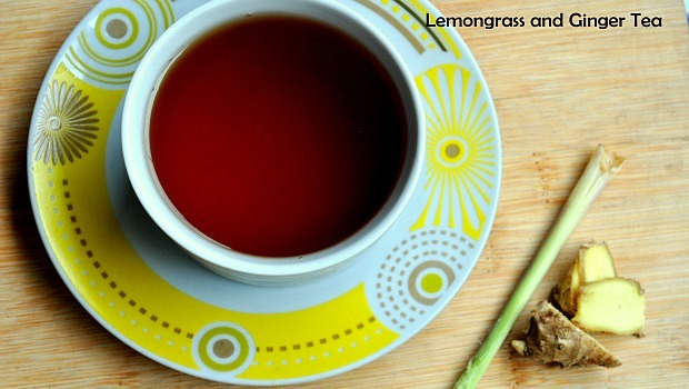 ginger for morning sickness-ginger tea and lemongrass flavor
