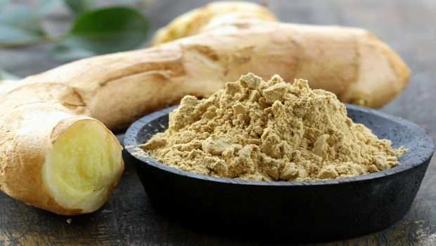 ginger for morning sickness-ginger tea and powdered ginger