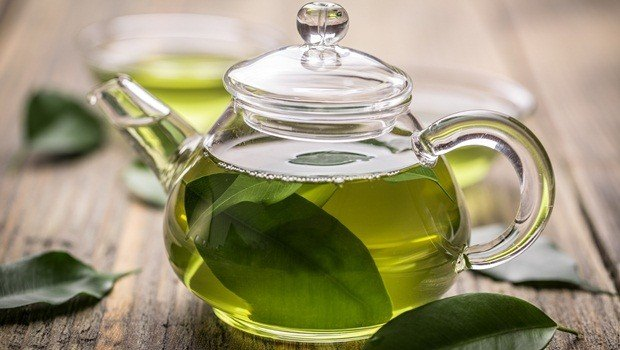 superfoods for skin - green tea