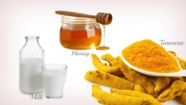 home remedies for sleep apnea-warm turmeric milk