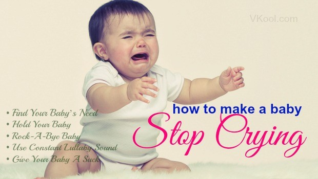 how to make a baby stop crying1