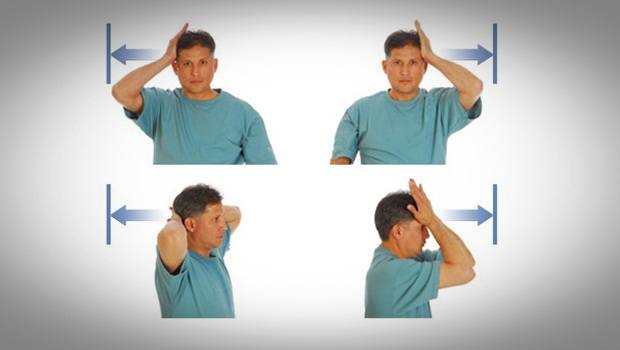 home remedies for neck pain - isometric exercises