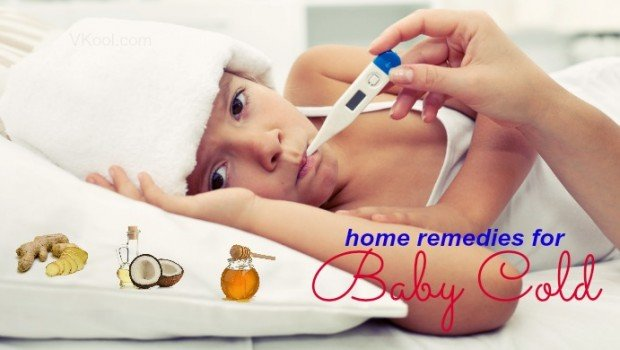 natural home remedies for baby cold