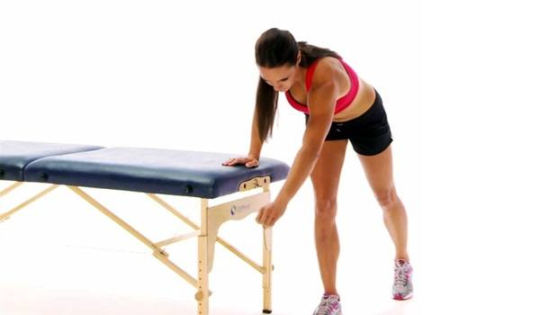 physical therapy exercises for shoulder - pendulum exercise