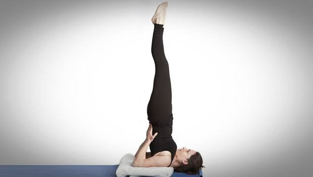 exercises to increase metabolism - sarvangasana