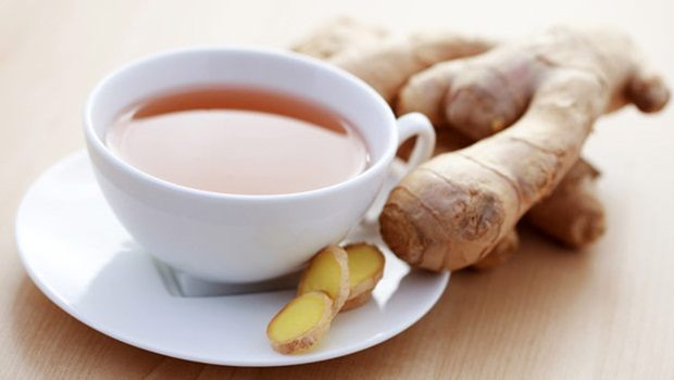 ginger for acid reflux - spicy ginger tea