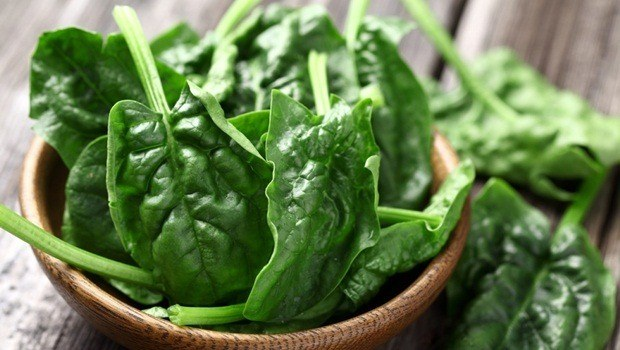 superfoods for skin - spinach