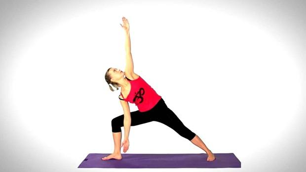 exercises to increase metabolism - trikonasana