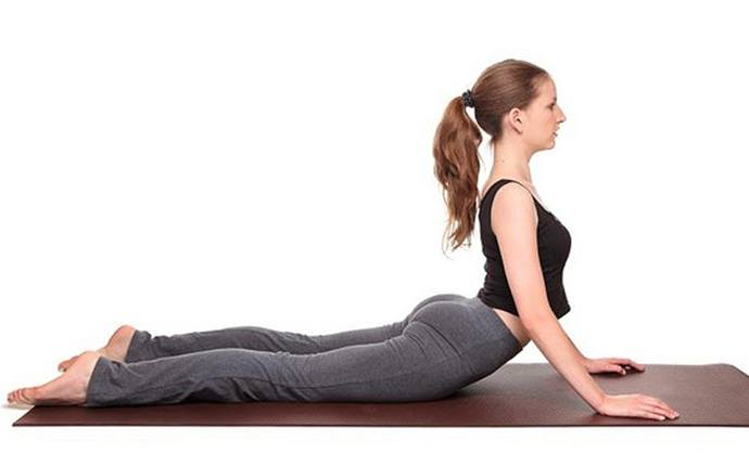 yoga poses for pcos - bhujangasana (cobra pose)