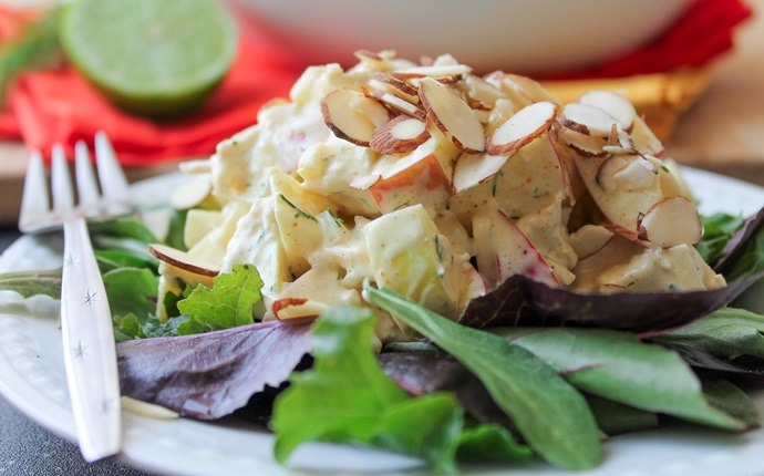 low calorie diet for weight loss - chicken salad the low cal way