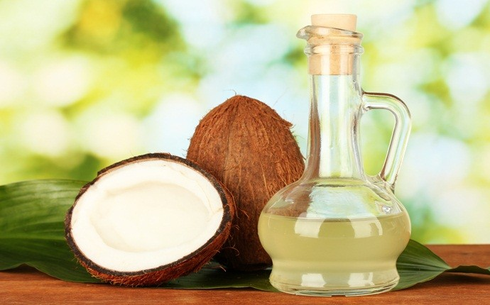 how to remove eczema - coconut oil