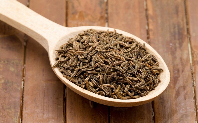 how to get rid of stomach ache - cumin seeds and water