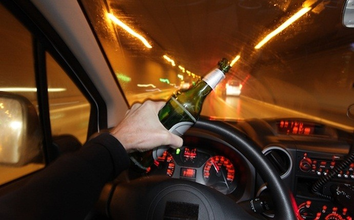 causes of car accidents - drunk driving