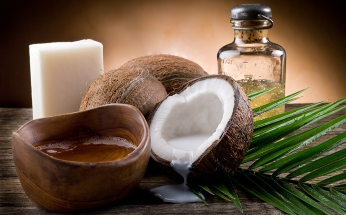 how to get rid of dry hair - eggs, coconut oil, yogurt, honey, and almond oil