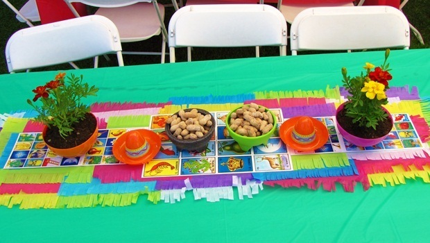 birthday party themes for adults - fiesta birthday party theme