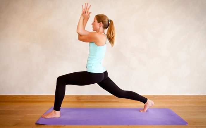 yoga asanas for weight loss - garudasana