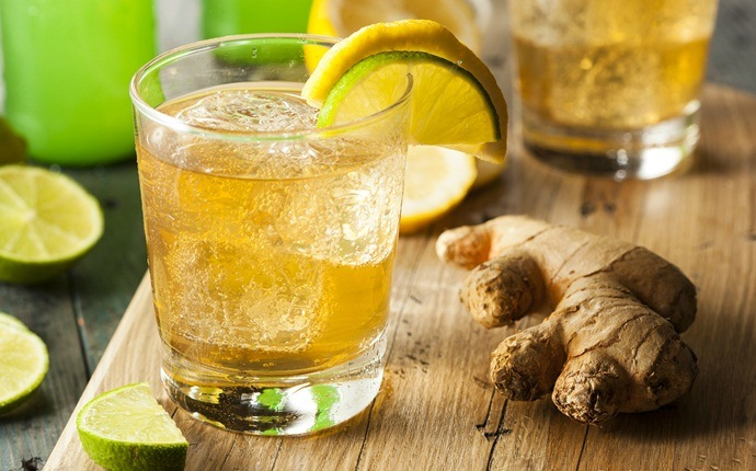 how to get rid of stomach ache - ginger ale