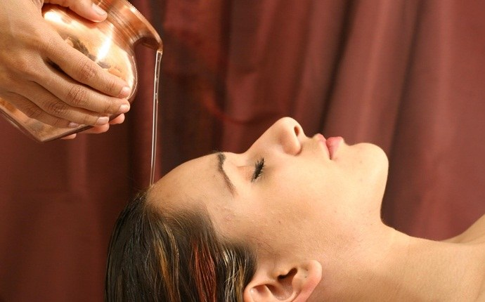 how to get rid of dry hair - hot oil massage