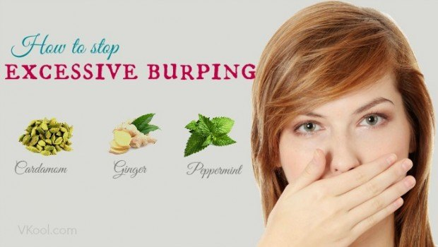 how to stop excessive burping
